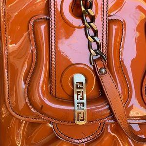 Fendi Bags - Fendi B Bag Patent Leather